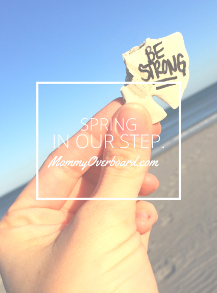 Spring In Our Step.