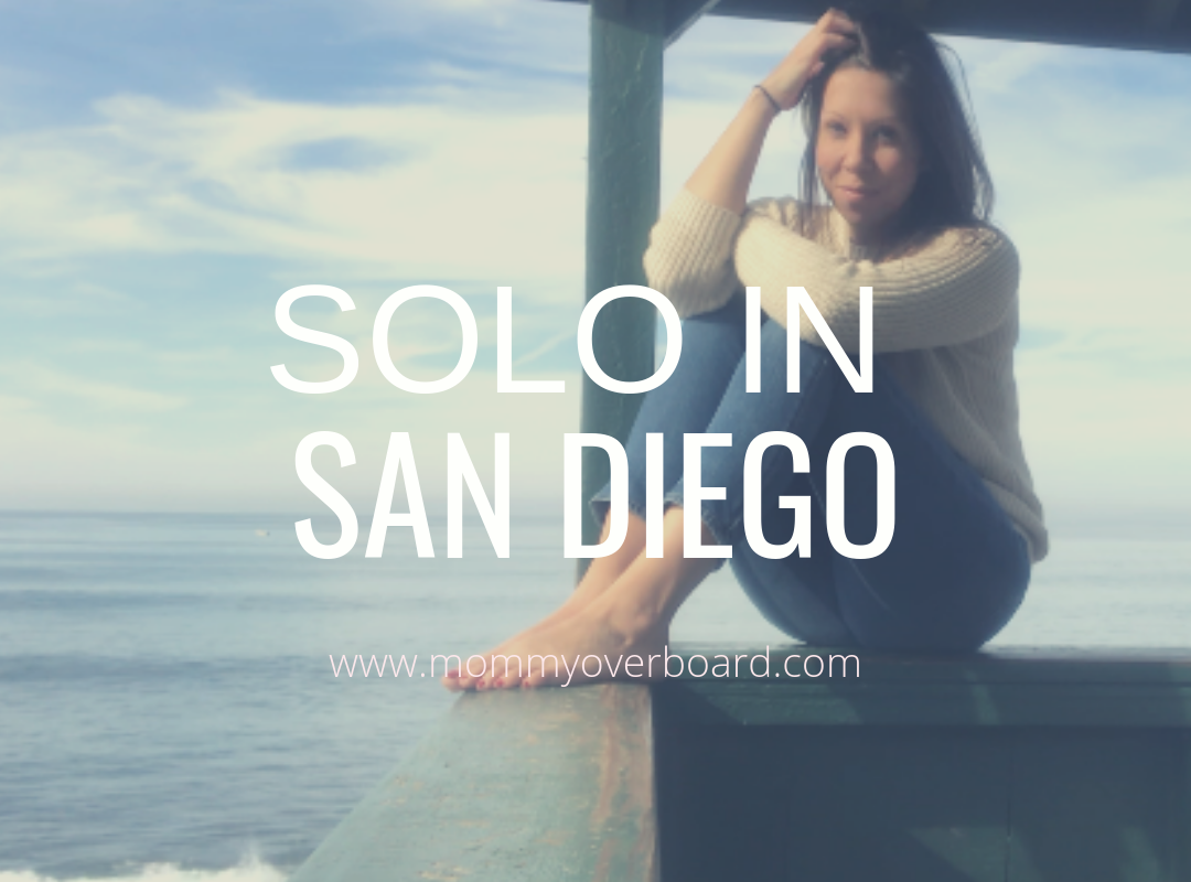 Solo in San Diego.